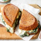 Spanakopita Grilled Cheese Sandwiches
