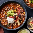 Bean & Beef Taco Soup