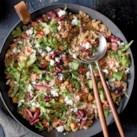 Slow-Cooker Mediterranean Quinoa with Arugula