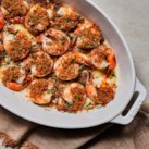Crispy Panko-Parmesan Baked Shrimp