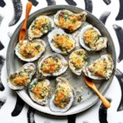 Oysters au Gratin with Spinach & Breadcrumbs