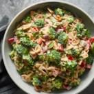 Mediterranean Broccoli Pasta Salad