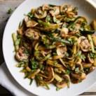 Zucchini & Mushroom Saute