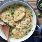 20-Minute Chicken Cutlets with Creamy Pesto Sauce