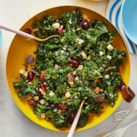 Massaged Kale Salad with Grapes & Cheddar