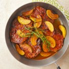 Sauteed Pork Chops with Apples