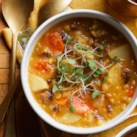 Split Pea Soup with Chorizo
