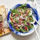 Bitter Greens Salad with Soppressata & Pecorino