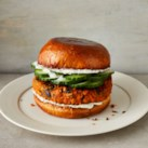 Sweet Potato-Black Bean Burgers