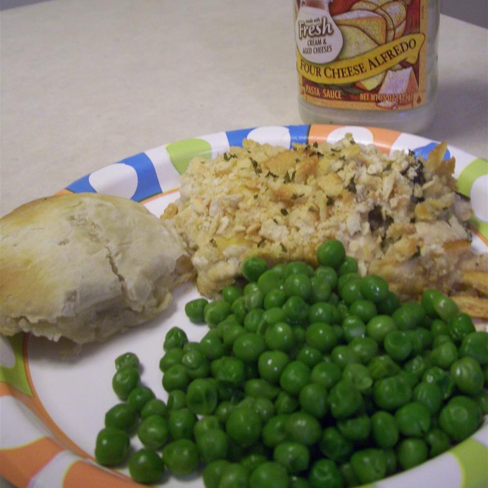Creamy Wild Rice Chicken Casserole