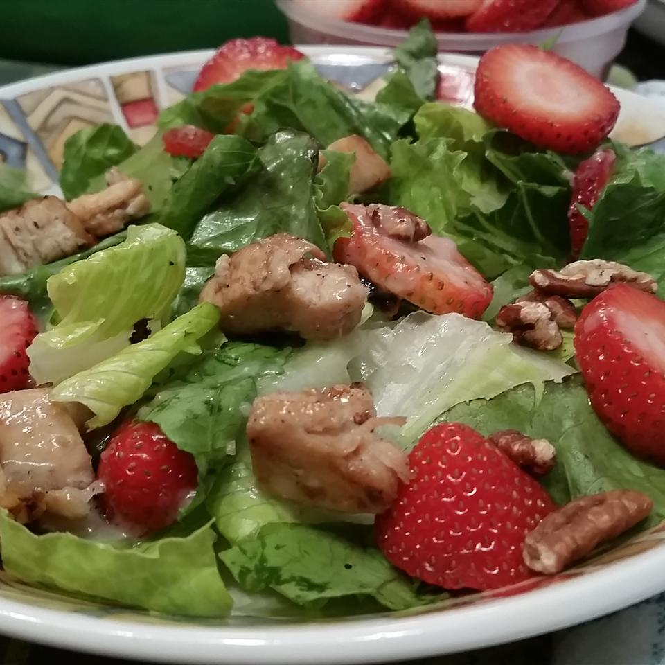 Grilled Chicken Salad with Seasonal Fruit Sheila LaLonde