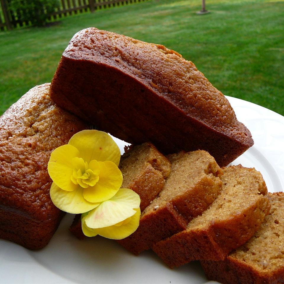 Cantaloupe Bread with Praline Glaze Kaddy