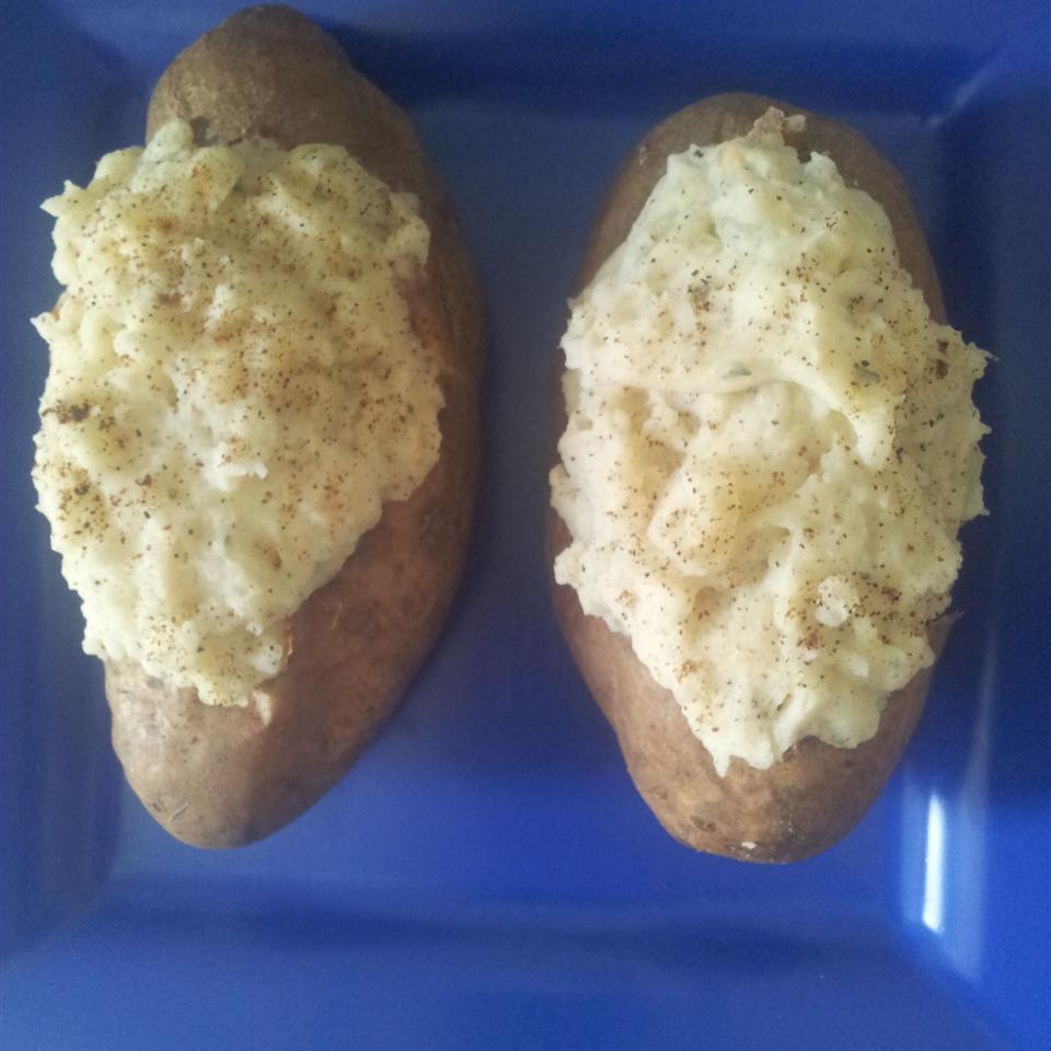 Creamy Twice-Baked Potatoes Mrs. Peterson
