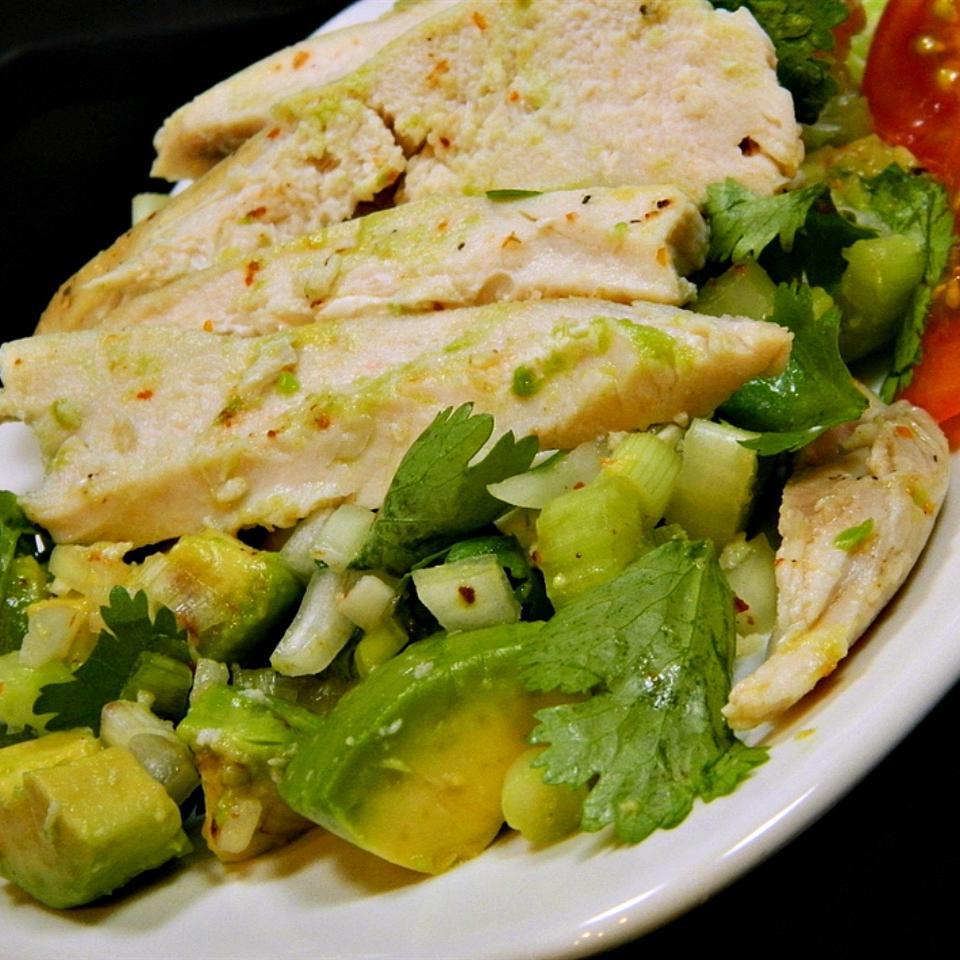 Easy Avocado Chicken Salad RACH7H