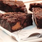 Butterfinger Brownies - These brownies are made extra-special by adding chopped Butterfinger.