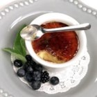 Butterfinger Creme Brulee - Butterfinger pieces are the surprise ingredient at the bottom of these fun brulees.