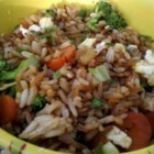 Vegetable Fried Rice - Take the mystery out of fried rice by tackling this recipe featuring a vegetarian version, easily adapted for your favorite vegetables or even the addition of meat.