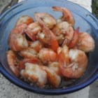 Steamed Garlic Prawns Chinese-Style - Healthy, easy and oh-so yummy! A favorite in Chinese restaurants.