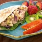 Amazingly Good and Healthy Tuna Salad - Tuna salad is given a flavor boost through the addition of apple and dried cranberries in this recipe.
