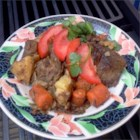 Autumn Pot Roast - This pot roast is infused with fresh tomatoes, onions, carrots, and potatoes and is prepared in a slow cooker.