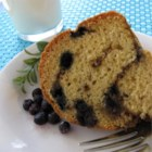 Blueberry Streusel Coffee Cake - A blueberry and walnut mixture is layered into this cake.