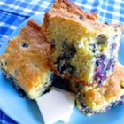 Blueberry Cornbread - Everyone likes cornbread, right? Same with blueberries, right? Why not combine the two? Everyone is going to love it!