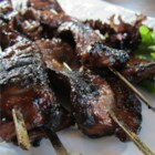 Sweet Teriyaki Beef Skewers