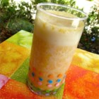 Max's Fresh Fruit Smoothie - Fresh apricots and banana make a nice summer smoothie.
