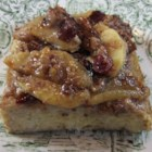 Baked Cinnamon Apple French Toast - Baked cinnamon apple French toast can be prepared the night before and baked in the morning for a sweet breakfast treat on holidays.