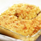A Little Different Baked Mac and Cheese - Five ingredients are all you need to prepare this quick and easy mac and cheese everyone in the family will love.