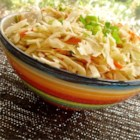 5 Minute Slaw - Celery seeds add nice flavor to this tangy oil-free slaw. This mixes up in a jiffy but is better after 4 to 6 hours in the refrigerator to blend flavors. It goes well with fried fish.