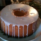 Cream Cheese Pound Cake - Butter and cream cheese provide the rich taste in this deliciously dense pound cake.
