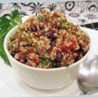 Zesty Quinoa Salad - Quinoa and black beans are tossed in a refreshing lime-cilantro vinaigrette for a quick and protein-packed lunch or side dish.