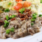 Rush Hour Refried Beans - Quick and easy refried beans can be made in 20 minutes. Simply combine pan-fried onion and garlic with mashed pinto beans and cumin for a flavorful side dish.