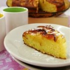Apple Downside-Up Cake - Lots of apples and a blend of spices make this cake a special treat. Quick, easy and very tasty.