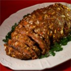 Very Old Meatloaf Recipe - This vintage recipe for meatloaf is accented with apple, carrot, and onion.