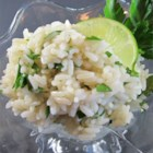 Lime Cilantro Rice - Provide some flair to your rice by adding lime zest, lime juice, and cilantro.