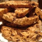 Chocolate and Almond Biscotti - Lots of chocolate chips make this biscotti irresistible.