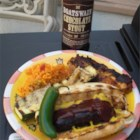 Barbeque Bratwursts - Get the most from your marinade injector. Tasty bratwursts that are injected with barbeque sauce before grilling.