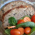 Heavenly Meatloaf with Blue Cheese, Mushrooms, and Spinach - This version of meatloaf is give a bit of an update with the insertion of spinach, mushrooms, and blue cheese.