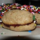 Finger Sandwich Butter Cookies - Use this recipe to get Italian butter cookies that will impress you just like the ones you'd get at the bakery.