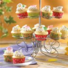 Lemon Pineapple Daisy Bites - Little bites of heaven! Mini-cupcakes with wonderful lemon and pineapple flavors. Fun for kid chefs and great for celebrations!