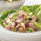 Boar's Head(R) Maple Honey Turkey Waldorf Salad - This salad combines the refreshing taste of apples with our delicious Maple Honey Turkey, providing a healthy and satisfying salad entree.