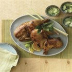 Savory Chicken Brine - Brining a chicken with soy sauce makes a juicier and more flavorful chicken. Great for baked, grilled or fried chicken.