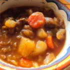 Beef and Cabbage Stew - Beef, cabbage, and potatoes are simmered in a tomato-based broth for a hearty and warm beef stew.