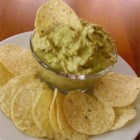 Creamy Guacamole with Garlic - Cream cheese makes for a creamier guacamole in this dip recipe.
