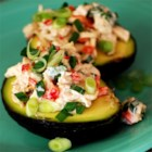 Avocado and Tuna Tapas - Avocado halves are filled with a tangy tuna salad in this Spanish tapa. This is a light, healthy tapa that goes best with crisp white wines and crunchy bread.