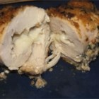 Savory Roll Ups - Breaded chicken filled with Jarlsburg cheese to bake tender and moist inside and out.