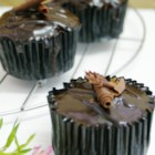 Super Easy Chocolate Cupcakes - These chocolaty cupcakes are livened up with a pinch of cayenne pepper and a hint of coffee flavor.