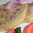 Pesarattu - Pesarattu is a crepe-like flatbread made with a batter made of rice and lentils.